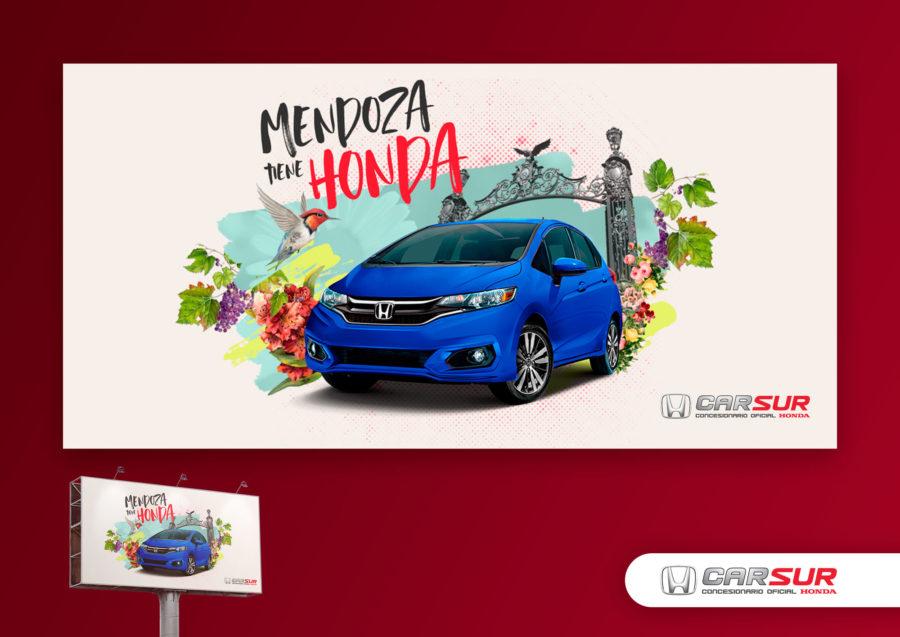 Mendoza tiene Honda